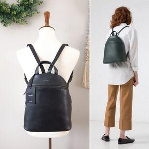 Matt & Nat | Aries Vegan Leather Backpack - Black